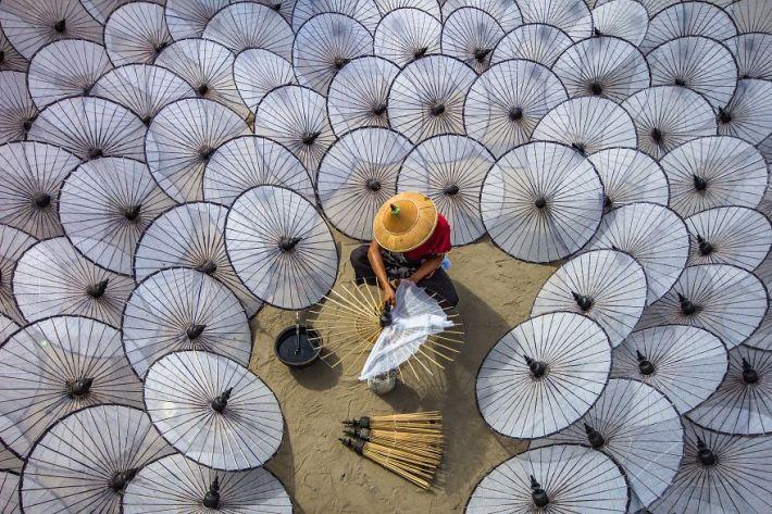 Among The White Umbrellas