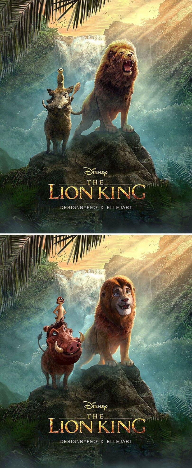 lion king live action fan remake nikolay mochkin 5d36c0935324f  700 - Olhar Alternativo ao Rei Leão live-action Remake 2019