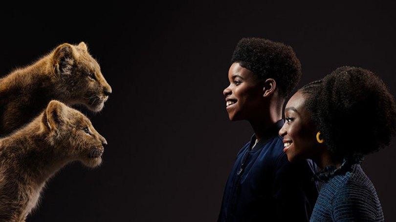 lion king remake cast posters disney 7 5d1c6b6ecafa2  700 - Novo Rei Leão: Atores enfrentam seus personagens cara a cara