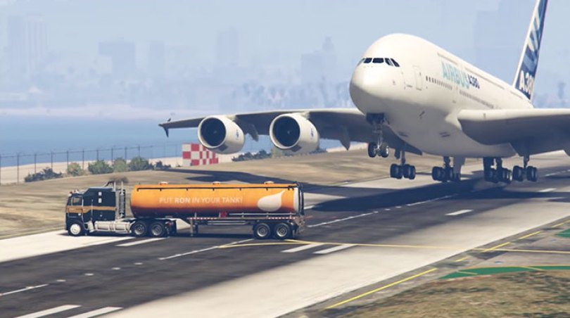 pakistani politician pilot escape tanker video game gta v 3 5d258781c085a  700 - Político paquistanês compartilhou um vídeo do GTA V pensando ser real