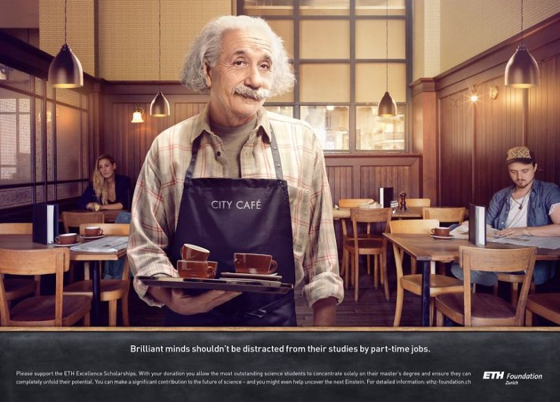 With good sense of humor and creativity advertising agency uses iconic figures from the past to present products 5d56006a2e949  880 - Agência de publicidade usa figuras icônicas em campanha