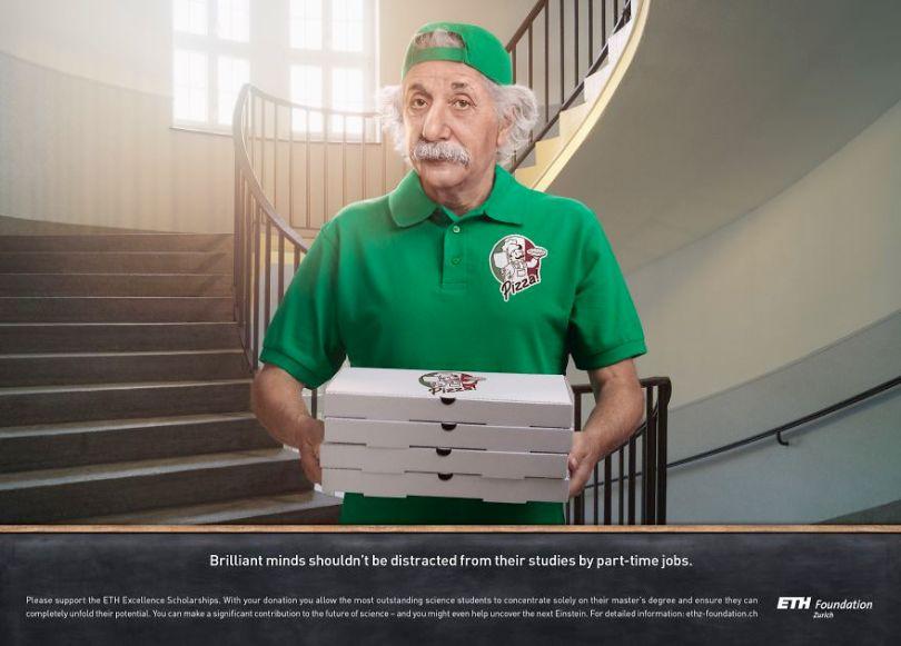 With good sense of humor and creativity advertising agency uses iconic figures from the past to present products 5d5600adec108  880 - Agência de publicidade usa figuras icônicas em campanha