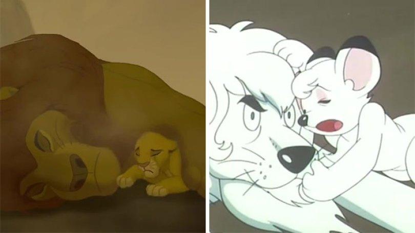 """lion king copy kimba disney 23 5d5cf789c30f2  700 - O verdadeiro Rei Leão? O reino de """"Kimba"""" O Rei Leão Branco"""