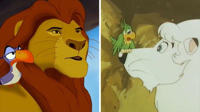 """lion king copy kimba disney 4 5d5cf76e0d13f  700 - O verdadeiro Rei Leão? O reino de """"Kimba"""" O Rei Leão Branco"""
