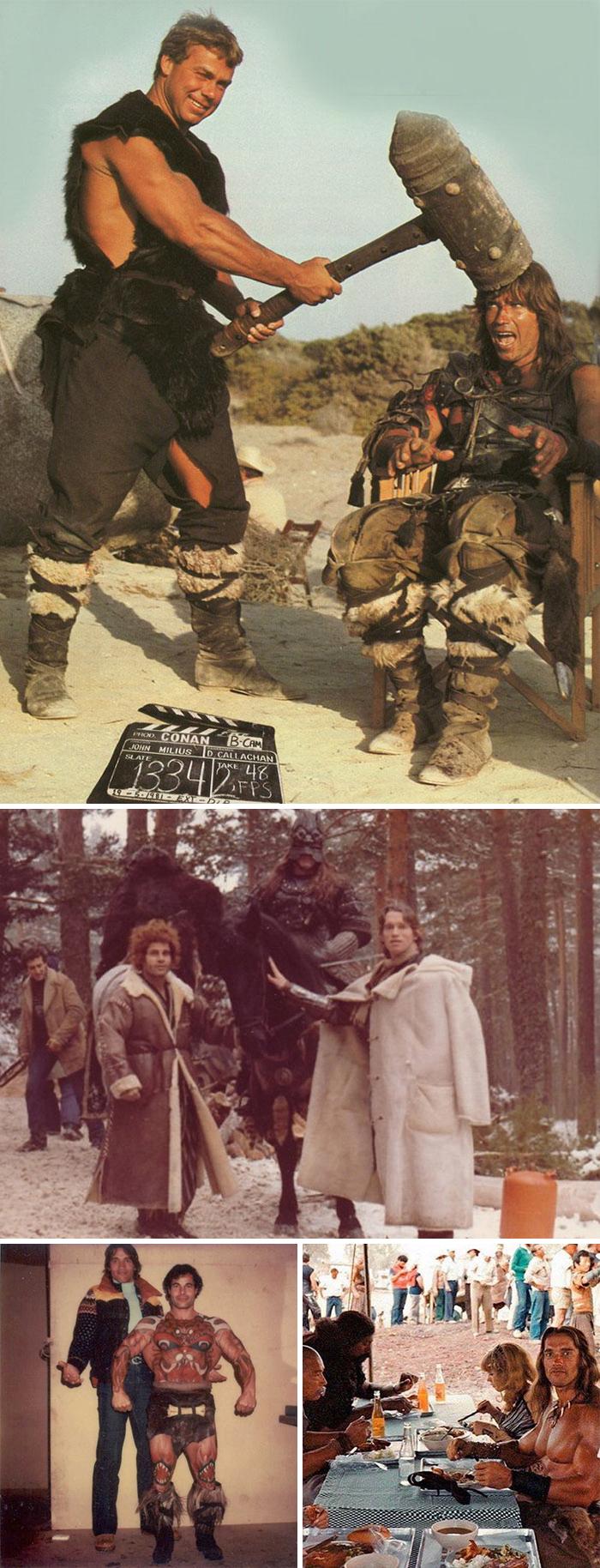 movies behind the scenes 41 5d566a4c32c30  700 - Por trás das cenas: Foto dos bastidores de filmes que marcaram época