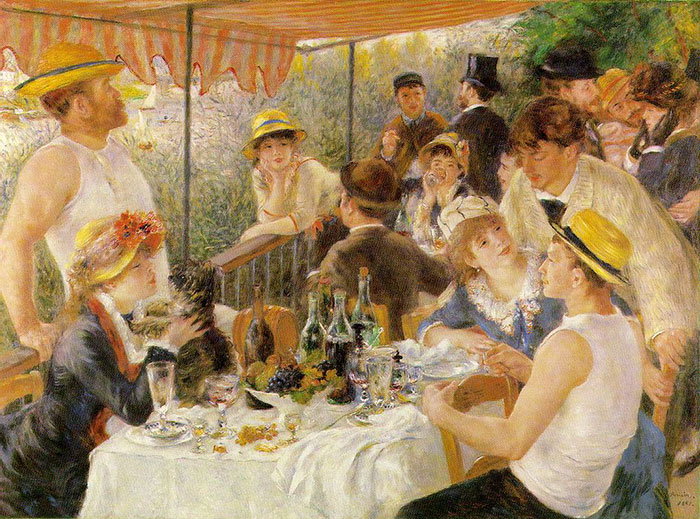 Dappled Light And Happy Party-Time People, It's Renoir