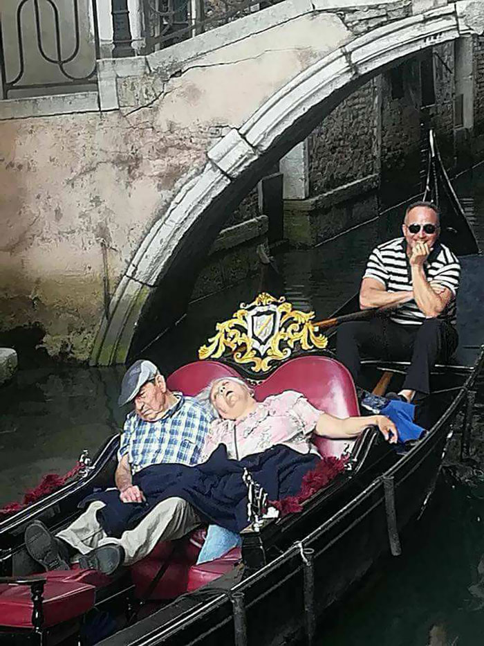 An Expensive Nap In Venice, Italy