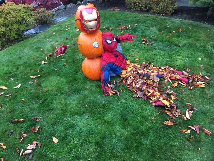 Mr. Stark, I Don't Feel So Good...