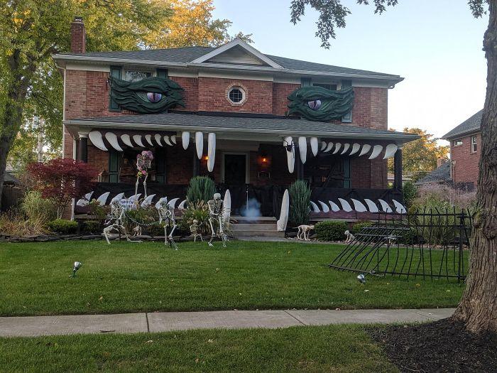 Our Neighborhood Really Loves Halloween