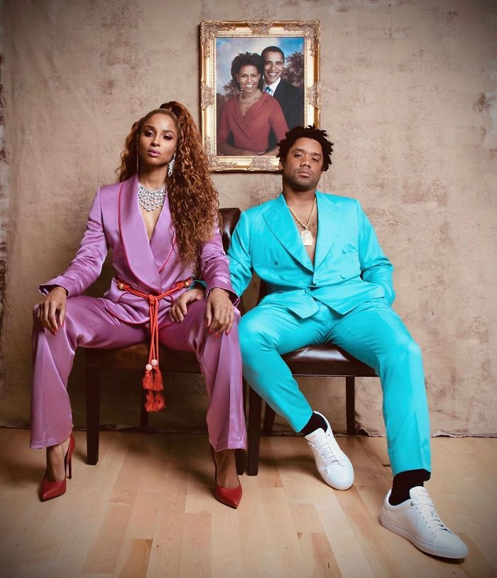 Ciara And Russell Wilson As Beyoncé And Jay-Z
