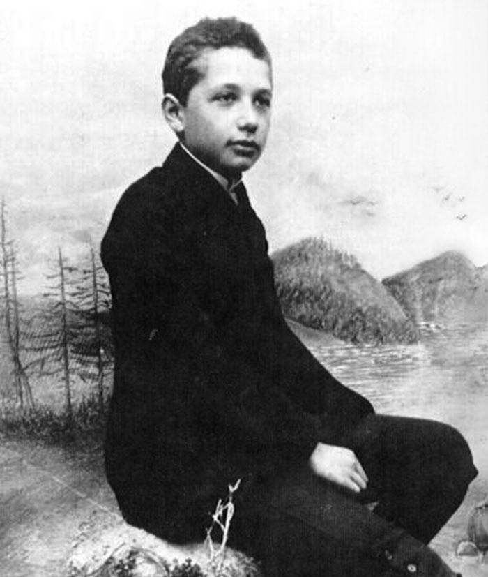 Albert Einstein Did Not Fail Mathematics Classes