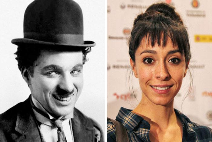 Charlie Chaplin & Oona Chaplin