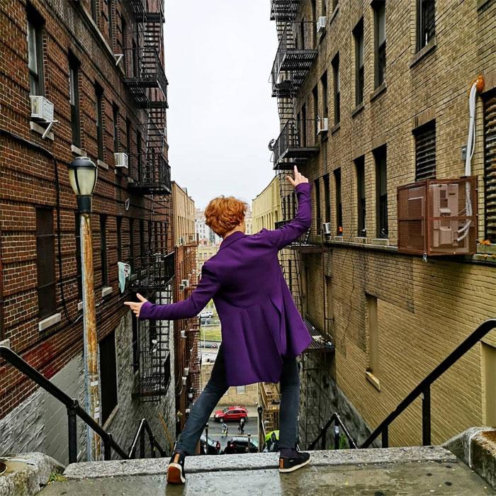 joker stairs tourist attraction new york 14 5daff54d654e3  700 - Escadas do 'Coringa' em Nova York se tornam uma atração turística!