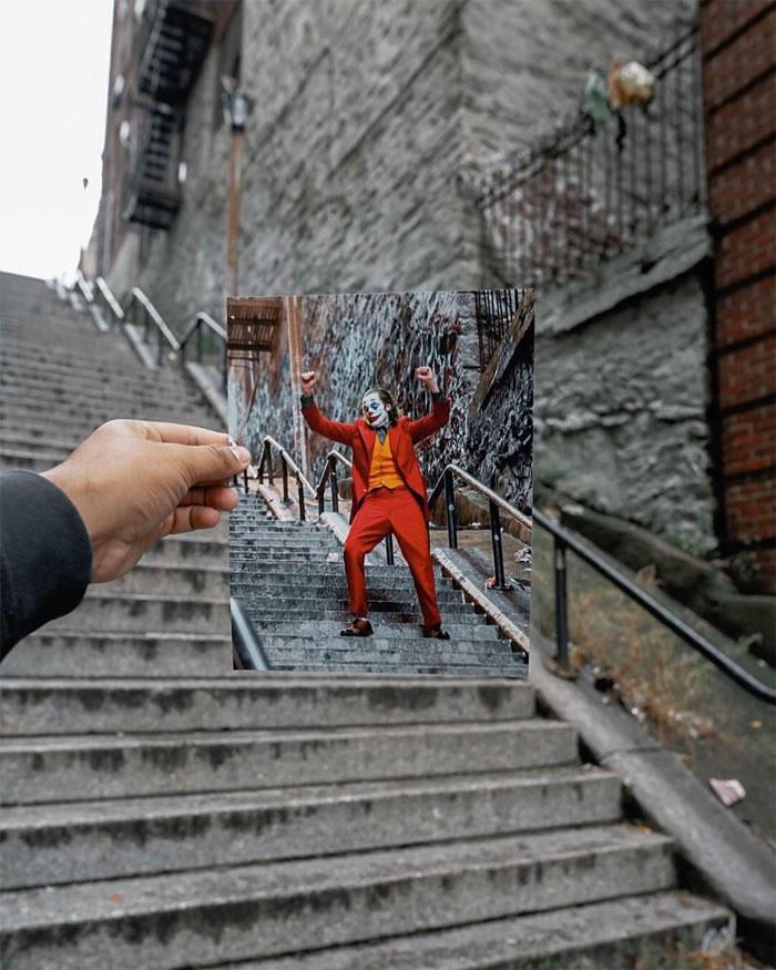 joker stairs tourist attraction new york 8 5daff2f348635  700 - Escadas do 'Coringa' em Nova York se tornam uma atração turística!