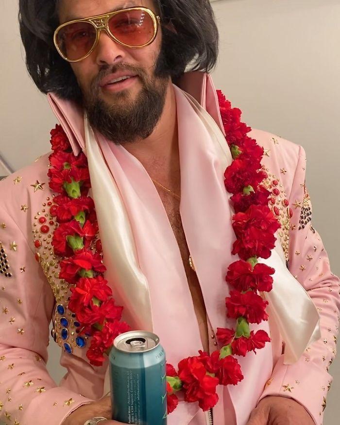 Jason Momoa As Elvis Presley