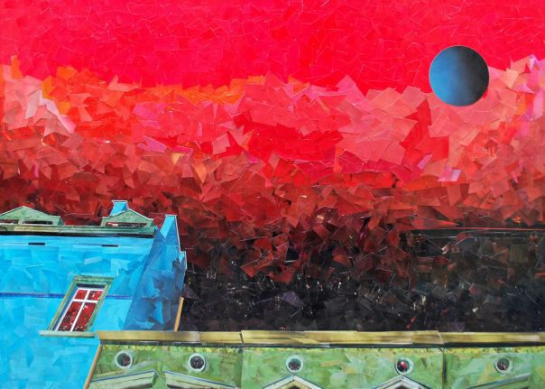 """The Window"", 65x92 cm"