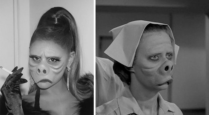 """Ariana Grande As Nurse From """"Eye Of The Beholder"""""""