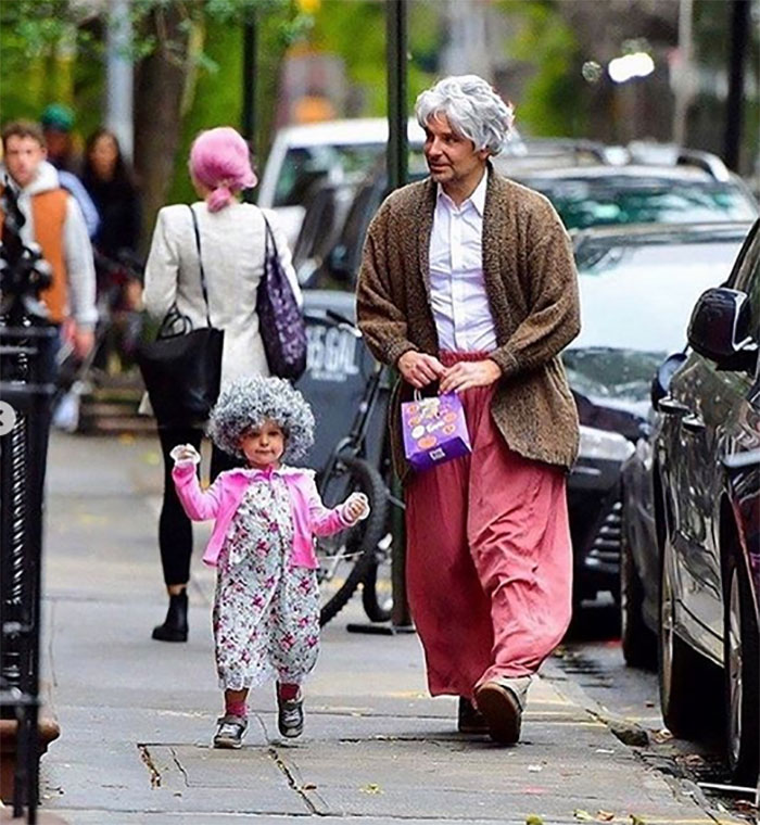 Bradley Cooper And Lea As Old Lady