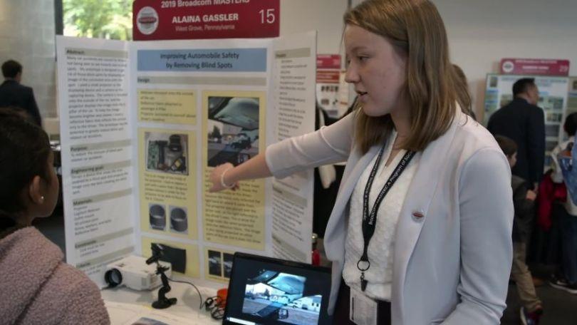 blind spot removal invention alaina gassler 5dbc557c48762  880 - Menina de 14 anos encontra maneira de resolver pontos cegos nos carros