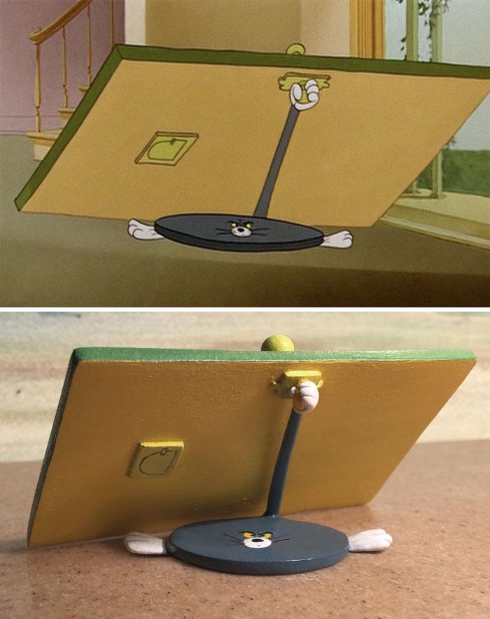 Funny-Tom-And-Jerry-Sculpture-Taku-Inoue