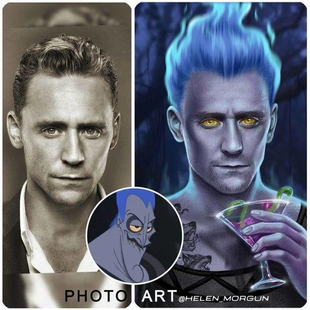 Tom Hiddleston As Hades