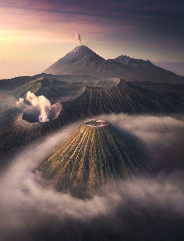 Bromo Volcano National Park, Indonesia By Tony Wang