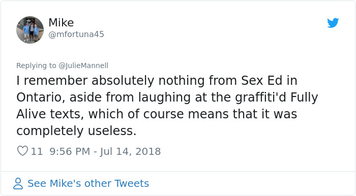 Women Are Sharing The Most Ridiculous Things About Periods And Sex That They Learned Due To Poor Sex-Ed