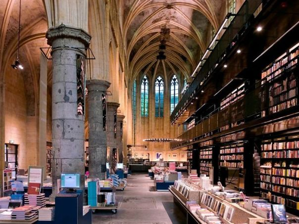 Church Repurposed Into Dominicanen Bookstore In Maastricht, Netherlands Is Now In The Top 10 Most Beautiful Bookstores Worldwide