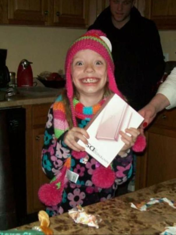 Me, On My 8th Birthday, Getting The DS I Raved About