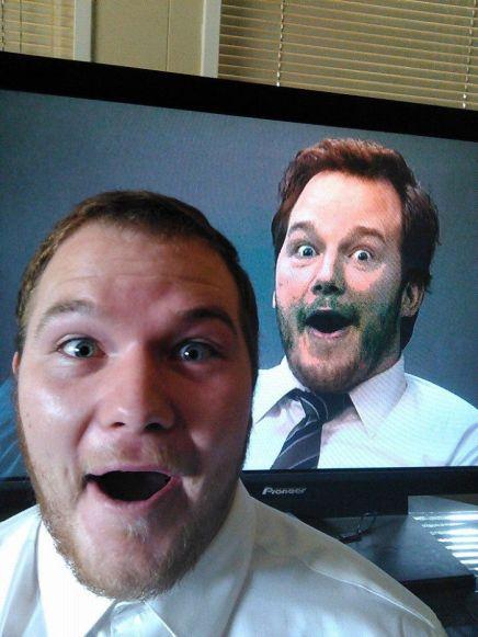 I've Been Told I Look Like Chris Pratt