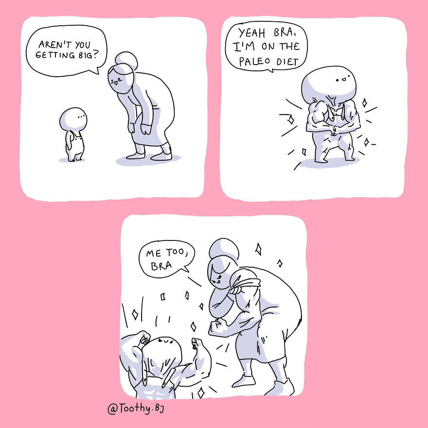 Artist Makes Black Humor In His Comics And More Than 81,000 Followers Are Addicted To Them