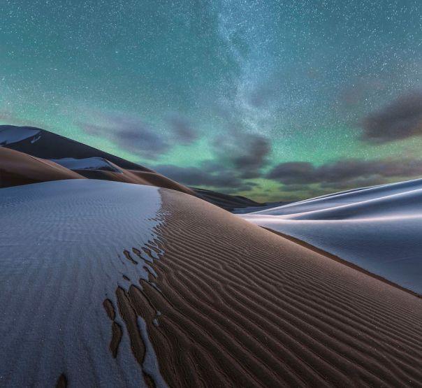 Second Place: Badain Jaran Desert, China By Yang Guang