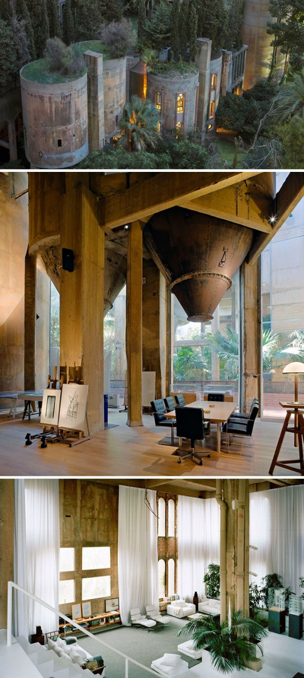 Architect Turns Old WWII Era Cement Factory Into His Home