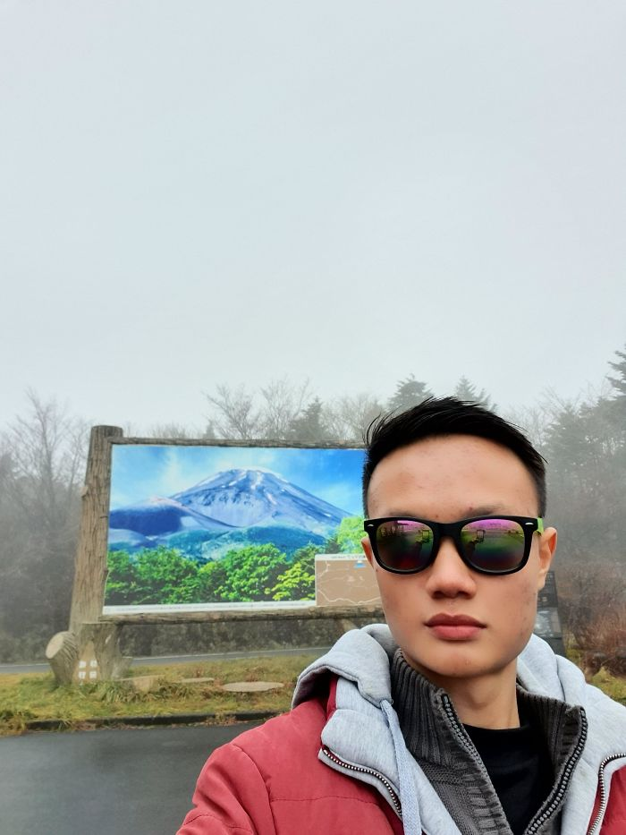 Visited Mount Fuji For The First Time. The View Was Magnificent