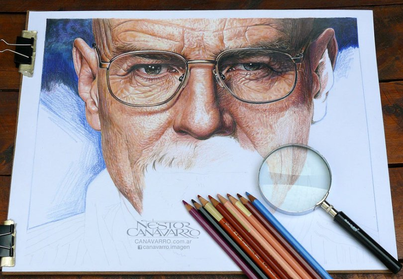 More Hyper Realistic Colored Pencil Drawings 5e78ae791d7c2  880 - Os desenhos hiper realistas de Nestor Canavarro