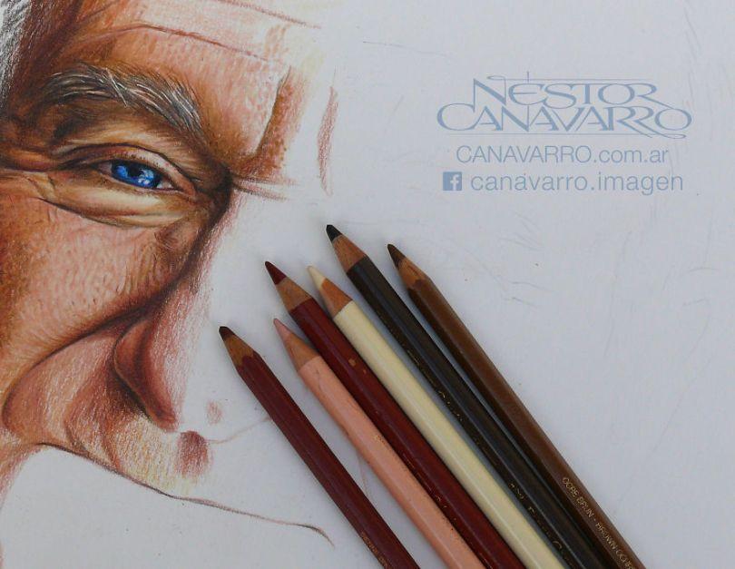 ROBIN process 5e75318fc2268  880 - Os desenhos hiper realistas de Nestor Canavarro