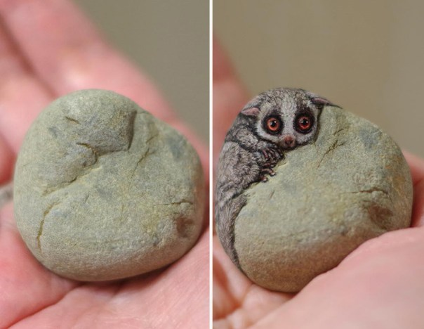 This Japanese Artist Turns Stones Into Art And The Result Is Incredible (New Pics)