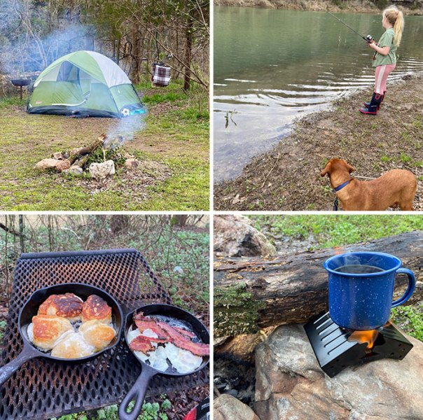 For My Daughter's 12th Birthday I Got Her A Dog And Took Her Camping And Fishing. Not Something I've Ever Done Alone