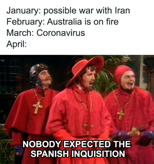 We Won't Expect It