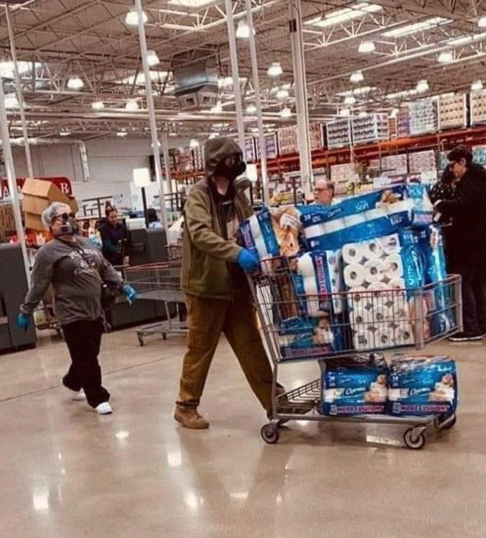 This Picture Was Taken At My Local Costco. We're Doomed Folks