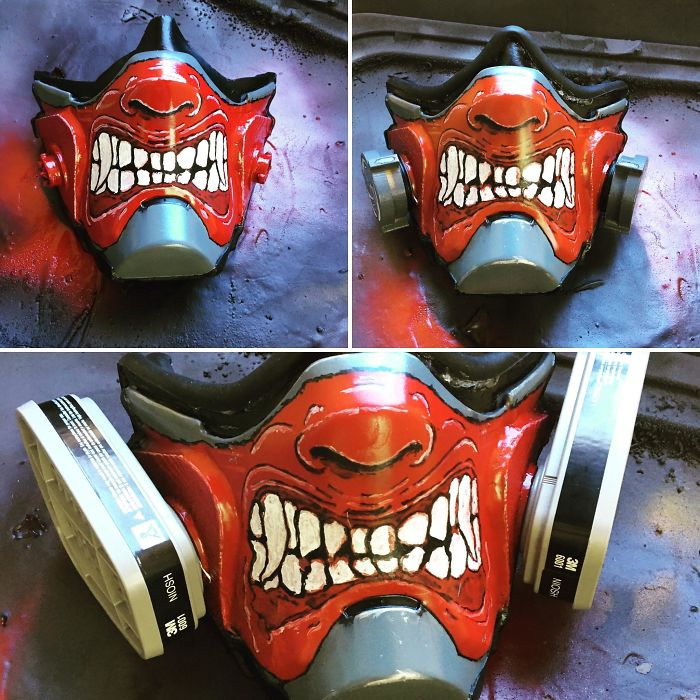 Finished Up My Custom Respirator Today.