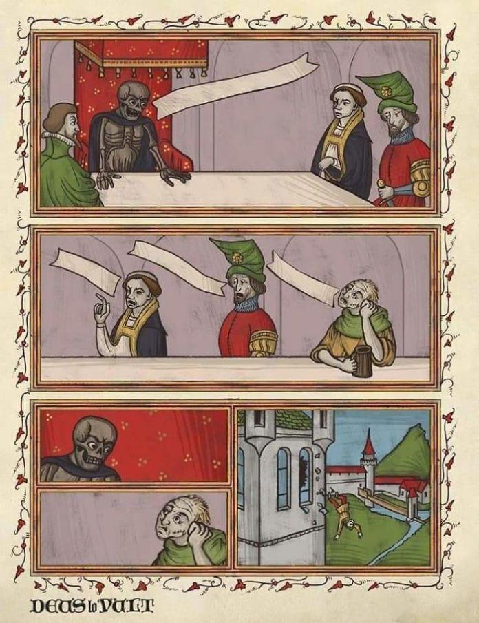 средневековые мемы