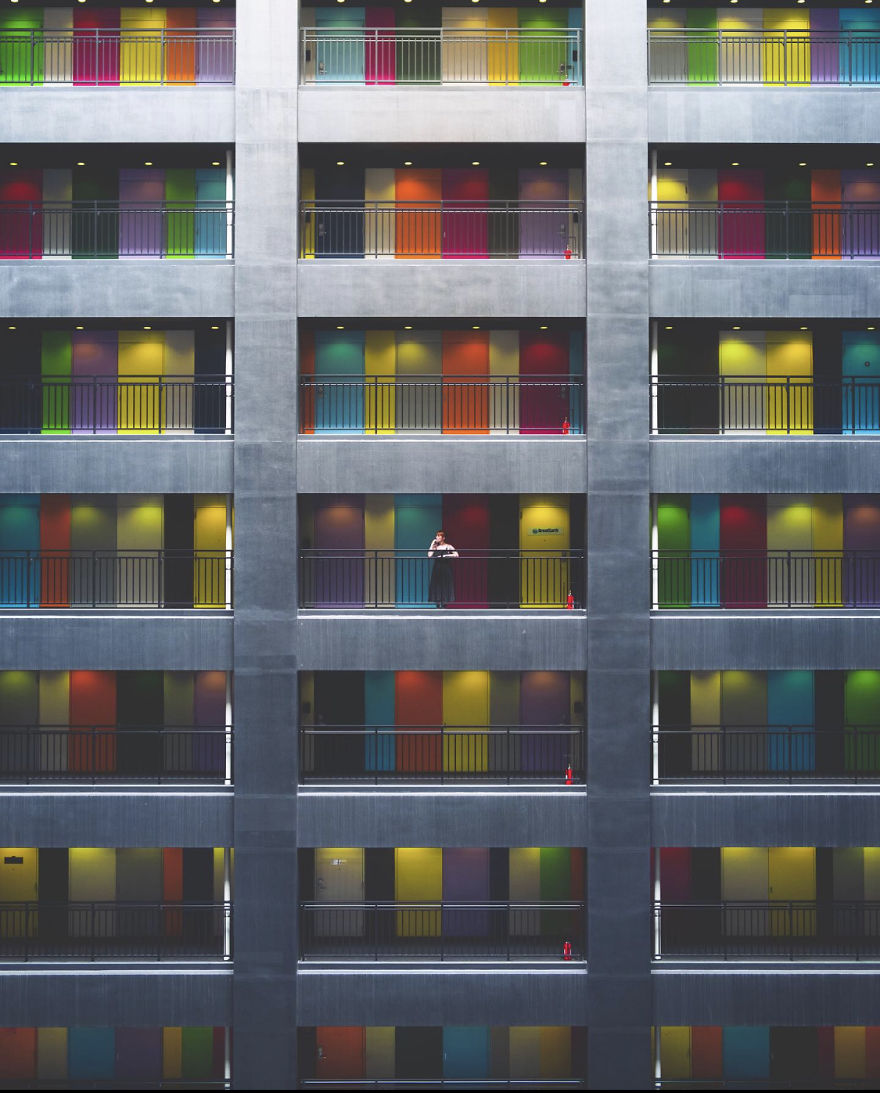 Colorful Architecture In Tokyo