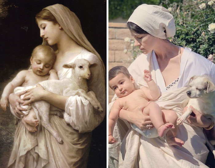 My Sister In-Law's Getty Museum Challenge. Innocence By William-Adolphe Bouguereau