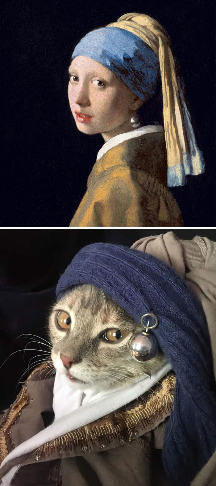La gata de la perla