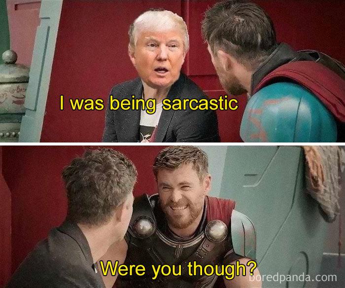 President Trump(Et) Explains All...