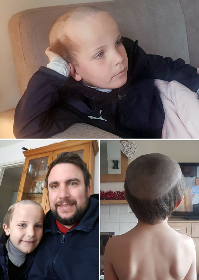 "Kid Left With This Lockdown Haircut After Asking His 7-Year-Old Brother For ""Old Man"" Hair"