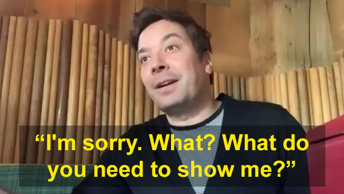 Jimmy Fallon's Interview Gets Adorably Interrupted When His Daughter Reports She's Lost A Tooth