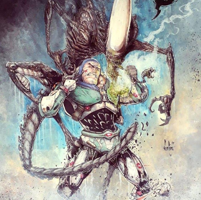 Базз Лайтер против пришельцев