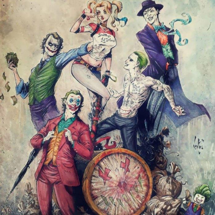 Харли Куинн и Джокеры